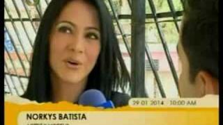Norkys Batista desde el Ciprés, Barrio donde creció