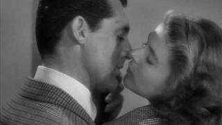 Notorious kiss Cary Grant and Ingrid Bergman