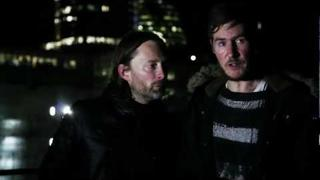 Occupy London's Xmas Party with 3D and Thom Yorke
