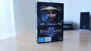 Official Starcraft 2 Wings of Liberty Unboxing and Possible Giveaway