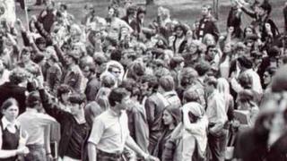 OHIO CSNY ( got audio back) - Kent State Massacre Montage
