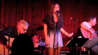 Olivia Olson singing live @ M Bar in Hollywood