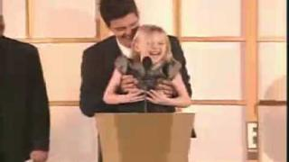 Orlando and Dakota Fanning