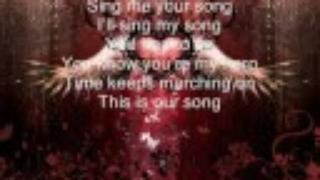 Our Song - Goodnight Nurse Lyrics
