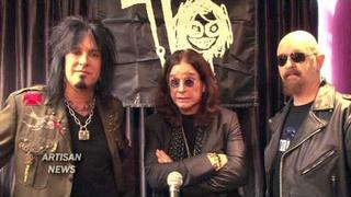 OZZFEST 2010: MOTLEY CRUE, OZZY, ROB HALFORD HEADLINE AND ANNOUNCE TOUR