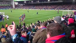 Palace Fans and Crystals Glad all over Selhurst Park