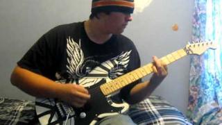 Panama by Tyler Hodges--EVH Eddie Van Halen Replica Guitar