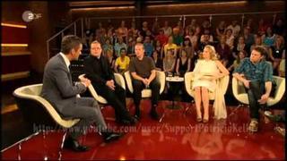 Patricia,Jimmy,Angelo & Joey Kelly - Zu Gast bei Markus Lanz 29.06.2011 - Part 1/4