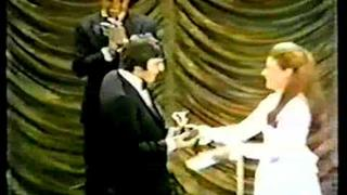 PATTY DUKE Presents AL PACINO With Tony Award 1969