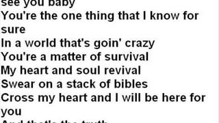 Paul Brandt That's The Truth (WIth Lyrics)