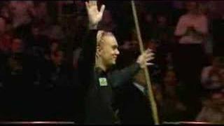 Paul Hunter Grandstand tribute