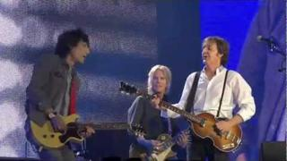 Paul McCartney and Ronnie Wood Get Back HD Live