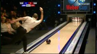 Paul Moor v Chris Barnes. Weber Cup 2010.