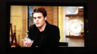 Paul Wesley on LIVE with Kelly and Michael