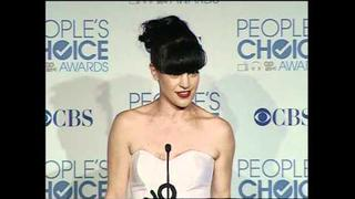 Pauley Perrette in the Press Room