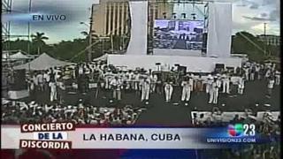 PAZ SIN FRONTERAS 5 CONCIERTO DE LOS VAN VAN EN VIVO CUBA 09-20-09