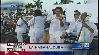 PAZ SIN FRONTERAS 6 CONCIERTO DE LOS VAN VAN EN VIVO CUBA 09-20-09