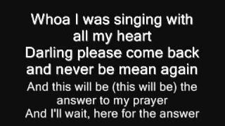 Percy Sledge My Special Prayer (With Lyrics)