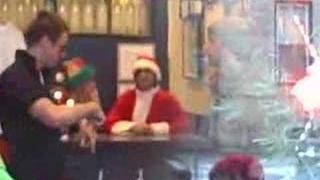 Pete Wentz is Santa Claus!