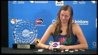 Petra Kvitova and Andrea Petkovic women's finalists