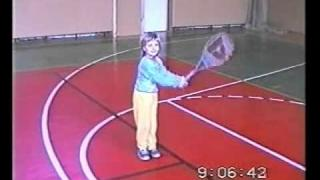 Petra Kvitova - As a Child (4 years old) - ve 4 letech