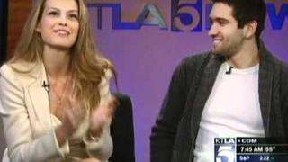 Petra Nemcova Interview - KTLA Morning Show (April 11th 2011)