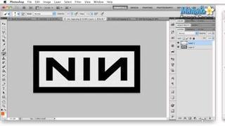 Photoshop Tutorial - Logo Case Study - Nine Inch Nails