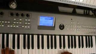 Piano mix Robert Miles style ( On Yamaha MM6 )