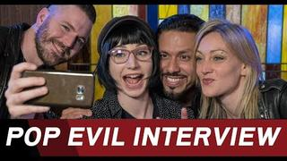 "Pop Evil on their new album ""POP EVIL"" - ROCK ANTENNE Interview"