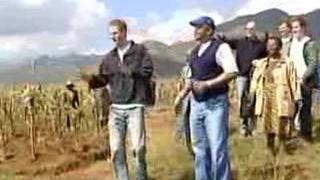 Prince Harry v Lesothu