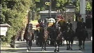 Princess Diana's Funeral Part 2: The Cortege Emerges