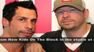 Q100 Atlanta - Danny Wood and Donnie Wahlberg - Part 1 of 5