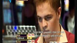 Quad Queens vs Quad Nine's (QQQQ vs 9999) Toby Lewis vs Andrew Robl World open 6
