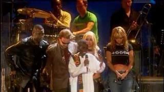 Queen, Dave Stewart, Bono Vox, Anastacia, Youssou N'Dour & Beyoncé - Amandla (46664 Cape Town 2003)