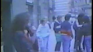 Quorthon signing in Stockholm 1987.