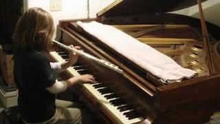 Rachel Flowers - Piano Concerto No. 1 by Keith Emerson - piano & flute