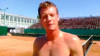 Radek Stepanek and hot Tomas Berdych !