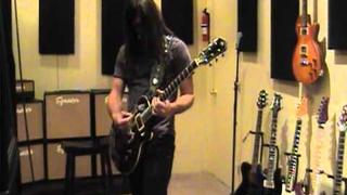 """Rafael Bittencourt from Angra performs """"The Rage Of The Waters"""" at NAMM 2011 - Jan 16th 2011"""