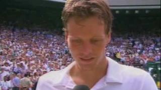 Rafael Nadal V Tomas Berdych Wimbledon 2010 Men's Final Tomas Berdych BBC Interview