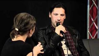 Rammstein-Drummer Christoph Schneider im Interview Frankfurt Musikmesse 09.04.2011