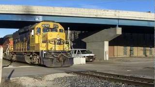 RARE POWER! BNSF GP60 Leads Local, Rock Island, IL!