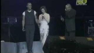 Regine Velasquez, Peabo Bryson & Jeffrey Osborne - Tonight I Celebrate My Love