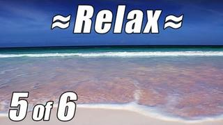 RELAX Best CARIBBEAN BEACH #5 PINK SAND BEACH + Ocean Sounds Wave Beach Waves noises 4 Sleep