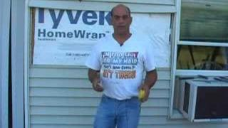 Removing and replacing vinyl siding