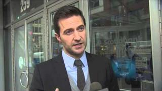 Richard Armitage Chats About The Hobbit