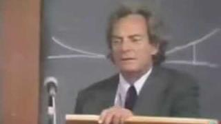 Richard Feynman on hungry philosophers (or do we see objects or only their light)