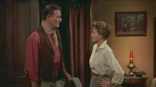 Rio Bravo (1959) - Teasing - John Wayne - Angie Dickinson