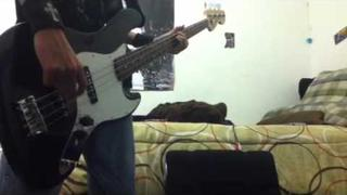 Rise against Satellite bass cover