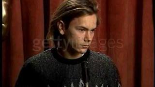 River Phoenix - 1989 academy awards luncheon interview