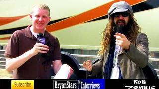Rob Zombie Interview Rockfest 2010